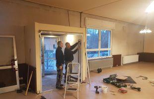 Renovierung Vereinshaus